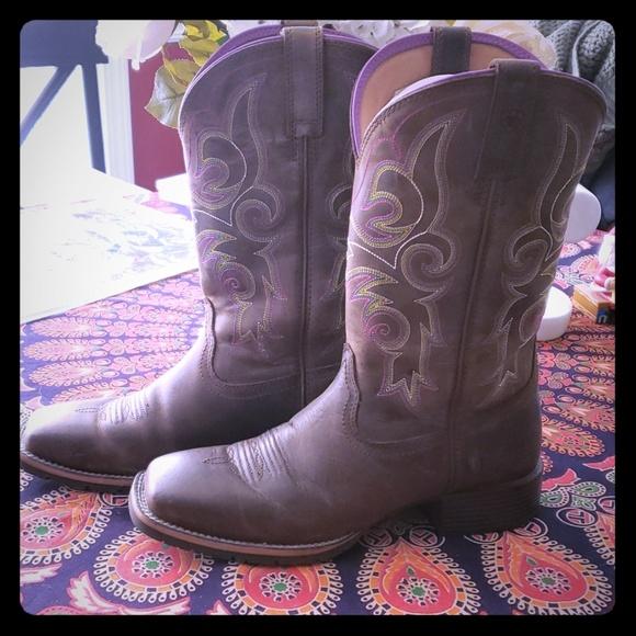 101aca5284f Ariat Hybrid Rancher Western Boots